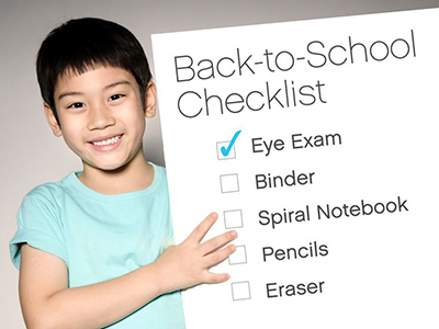 It's Time for Back to School Eye Exams