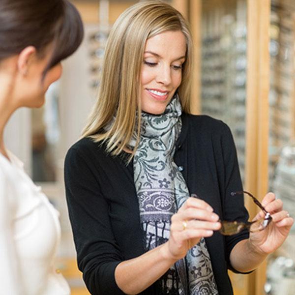 eyeglasses - sunglasses - contact lenses - eye exam