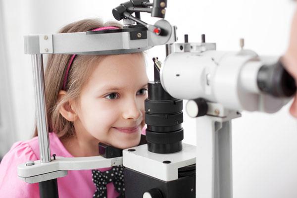 children eye exam - optometrist - eye care - wilmington nc