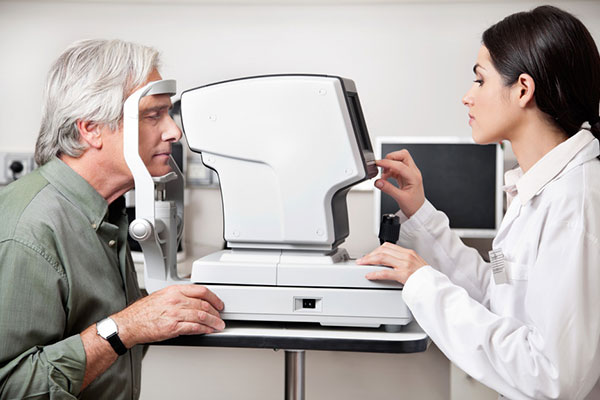eye exam - eye care - optometrist - eye doctor